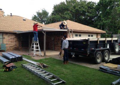 503 Highland Hills, Highland Village - carport rebuild-700