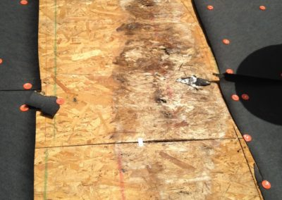replace roof deck - rotten roof decking-700